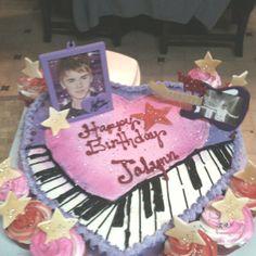 Justin Beiber Birthday cake for JaLynn.