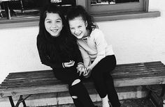 """""""friendship isn't about who you've known the longest, it's about who came and never left your. Hayley Leblanc, Carson Lueders, Bratayley, Celebrity Pictures, Annie, Bff, Sisters, Celebrities, Cute"""