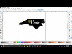 Inkscape Basics - Create an image and slice text out of it - YouTube
