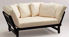 Futon Convertible Sofa Daybed Deep Seating Adjustable Indoor Outdoor Furniture