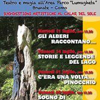 Teatro poetico nellArea Parco Lmaghta Brunate
