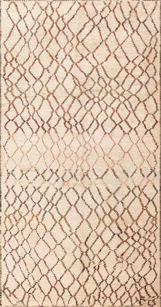 Vintage Moroccan Carpet 47958 Detail/Large View - By Nazmiyal