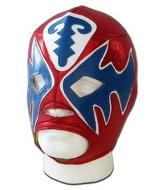 Atlantis Red adult luchador mexican lucha libre wrestling mask by Luchadora. Atlantis Red adult luchador mexican lucha libre wrestling mask.