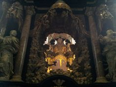 At the chapel of the Holy Tunic in Trier