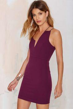 Nisha Mini Dress - Plum | Shop Clothes at Nasty Gal!