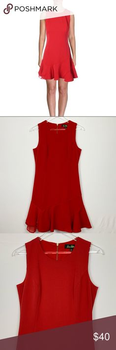 5cc17729fc Sam Edelman Red Cocktail Dress ▫ Brand  Sam Edelman ▫ Size  6