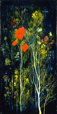Eyvind Earle, Poppies and Flowers