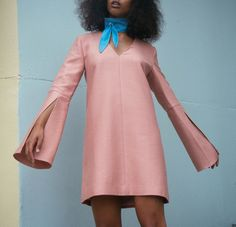 C/Meo For Saint Heron Small Things Dress, $240, available at Saint Heron.  #refinery29 http://www.refinery29.com/2016/05/110864/solange-knowles-saint-heron-cmeo-collective#slide-2