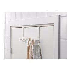 Ikea - Perchero Para Puerta X 6 Enudden Acero Alta Resistenc