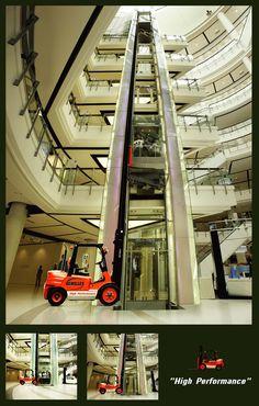 Archilles Forklift 電梯廣告,搭的是堆高機還是電梯?!