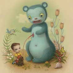 "Mark Ryden 2005 ""Blood"""