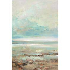 Artwork Title - Ocean Sky I   Artist Name - Elinor Luna   Size - 24x36x1.5 Quantity - 1 Piece