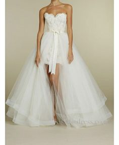 Thought of you robynne High-Low Wedding Dresses For Summer Beach Wedding