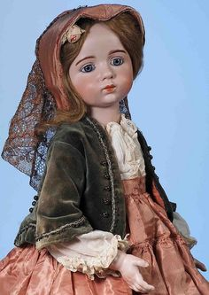Rare 1914 Albert Marque bisque doll a $168,000 thriller at Frasher's July 9 auction