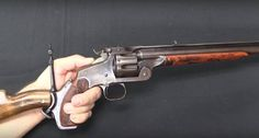 A look at the ultra rare Smith & Wesson 320 revolving rifle.