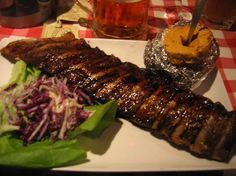 Amadeus, Brussels - All you can eat ribs, the best I've ever eaten!