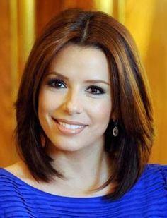 Cortes de cabelo para rosto redondo de atrizes