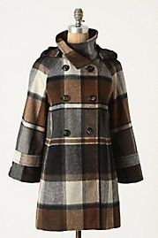 Anthropologie Sz M Coat Peacoat Hampden Elevenses Plaid Jacket Brand New Plaid Outfits, Winter Outfits, Anthropologie, Coats For Women, Clothes For Women, Cute Coats, Plaid Coat, Plaid Jacket, Cute Jackets