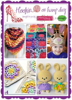 So many great links this week at Hookin On Hump Day! Just 4 days left to add your own - all you need is a blog and a crochet project!