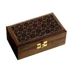 #Armadio indiano gioielli scatola #legno #intaglio a mano