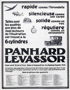 Panhard & Levassor (Cars) 1910 Ehrmann