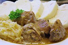 Hlavné jedlá Archives - Page 25 of 31 - Báječné recepty Mashed Potatoes, Spinach, Recipies, Food And Drink, Pork, Beef, Chicken, Ethnic Recipes