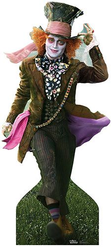 Mad Hatter - Johnny Depp Lifesize Cardboard Cutout