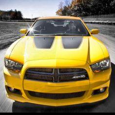 Mean Dodge Charge SRT8