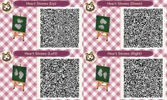 my name is claudia and you can find qr codes for animal crossing here! I also post non qr code related stuff so if you're only here for the qr codes please just blacklist my personal tag. Qr Code Animal Crossing, Animal Crossing Qr Codes Clothes, Animal Games, My Animal, Chandelure Pokemon, Acnl Paths, Dream Code, Motif Acnl, Ac New Leaf