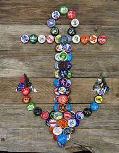 Diy Bottle Cap Crafts 138978338489248630 - Source by Beer Cap Art, Beer Bottle Caps, Bottle Cap Art, Beer Caps, Bottle Stoppers, Beer Cap Crafts, Cork Crafts, Craft Beer, Diy Crafts