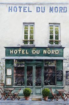 Paris Restaurants, Paris Hotels, Paris Cafe, Paris Paris, Montmartre Paris, Boutiques, I Love Paris, Belle Villa, Shop Fronts
