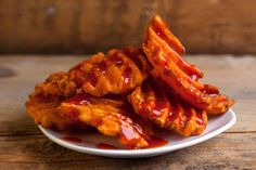 CRVE Worthy - Crispy Sweet Potato Fries with Maggi Ketchup @ Curry Up Now, San Francisco, CA