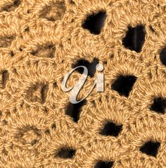 Knitted Fabric, Royalty Free Images, Symbols, Letters, Stock Photos, Brown, Copyright Free Images, Icons, Letter