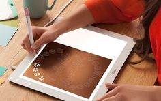 How neat is this BrightPad?? Perfect for tracing, weeding, and more... #cricut #vinyl #cricutbrightpad #cricutcrafts #affillink