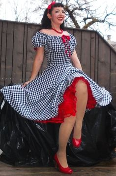 Hey, I found this really awesome Etsy listing at https://www.etsy.com/listing/215658902/pinup-dress-lollipop-with-sleeves-pinup