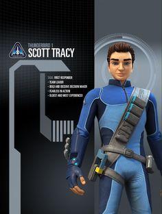 scott tracy Joe 90, Thunderbird 1, Timeless Series, Ufo Tv Series, Go Tv, Thunderbirds Are Go, Sci Fi Tv, Team Leader, Animation