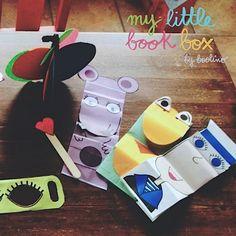 Otras de las actividades #mylittlebookbox que ha compartido con nosotros Rocío Galano. ¡Muchas gracias!