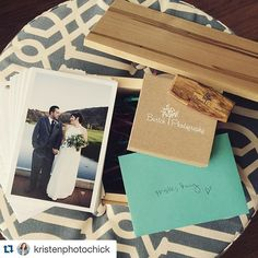 #Repost @kristenphotochick with @repostapp. ・・・ Not a day goes by that I don't thank my lucky stars that I found wedding photography.  Meeting these amazing couples & documenting romantic love stories has changed my life.  Packaging up this client box to go out first thing tomorrow!  @lindseyahndraya , get ready girl! ;) #hubbybrag My hubby makes my custom client boxes, I mean come on!  I married such a talented guy! #burtchphotography #weddingphotographer #printsareforever #lovemyjob…