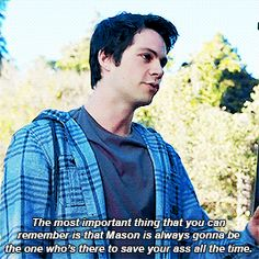 Stiles, Teen Wolf Episode 610 this was pretty overwrought i think.. but still luv stiles❤