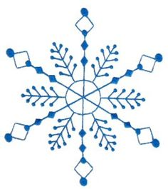 Machine Embroidery Designs | Snowflakes | Bunnycup Embroidery