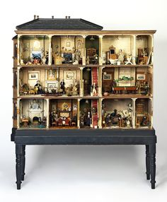 Miss Miles' dolls' house, England 1890 Museum no. W.146-1921