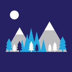 Winter Woodland Notebook
