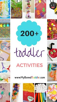 Toddler Activities To Do At Home Toddler Activity Ideas Galore! So many great toddler ideas, toddler crafts, toddler activities, toddler sensory play, toddler indoor activities and toddler outside activities. Toddler Learning, Toddler Fun, Toddler Preschool, Toddler Crafts, Crafts For Kids, Toddler Games, Toddler Activities Daycare, Art Projects For Toddlers, Easy Crafts
