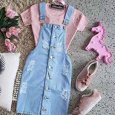 Modest Casual Outfits, Cute Skirt Outfits, Casual School Outfits, Stylish Dresses, Pretty Outfits, Teenage Girl Outfits, Girls Fashion Clothes, Teen Fashion Outfits, Outfits For Teens