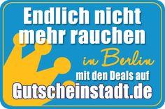 #Nichtraucher werden in #Berlin mit #Gutscheinstadt