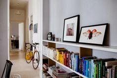 Interiorismo en blancos en este apartamento de Berlín