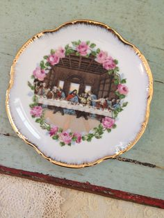 Last Supper Plate / Easter Decor / Collectible by FoundBlessings