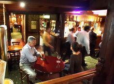 Classic English style pub with Sherlock Holmes theme