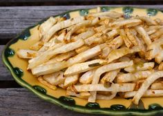 Paleo French Fries - DIY Recipe Book