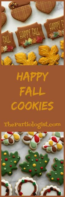 Fall Cookies Fall Cookies, Christmas Cookies, Baseball Cookies, White Icing, Wedding Cupcakes, Party Shop, How To Make Cookies, The Good Old Days, Candy Corn